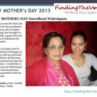 HAPPY MOTHER's DAY Surodhoni Wairokpam