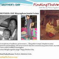 HAPPY MOTHER's DAY Mayengbam Jamini Leima