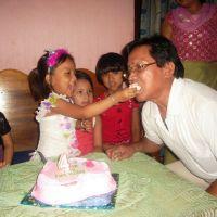 HAPPY FATHER's DAY to Mayengbam Swarjeshkumar Singh, Wishes from Mayengbam Pankaj Kumar