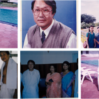 HAPPY FATHER's DAY to Late Thokchom Gobind Singh, Remembering Papa from Roshni Thokchom