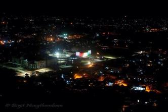 Night view of Imphal