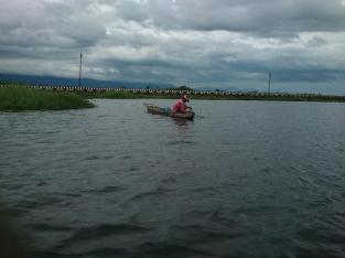 Nga Mee (Fisherman) at Loktak lake