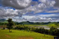The beauty of Manipur, Chingnungkhok, (aprox. 10-12 kms at Ukhrul Road from Imphal).