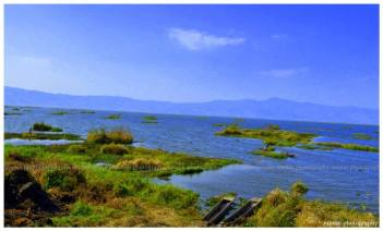 loktak lake the largest freshwater lake in northeast india also called floating lake
