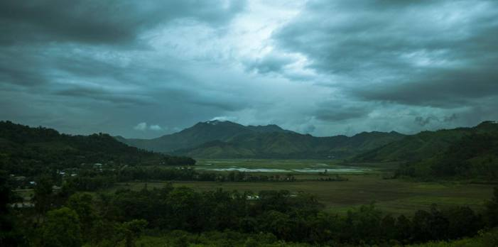 Beauty Range Of Manipur , Santrok village of Imphal East and Thoubal District Border