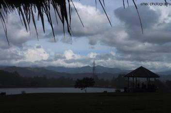A rainy day at Andro