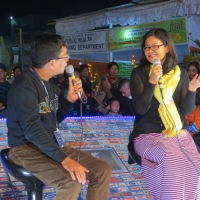 "V003 FindingTheVoices featured in ""ISTV Meet the star show"" at Manipur Sangai Festival 2013"