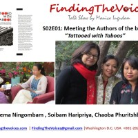 """S02E01 FindingTheVoices: Meeting the Authors of the book """"Tattooed with Taboos"""""""