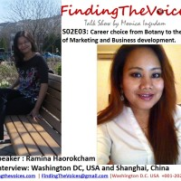 S02E03 FindingTheVoices: Career choice from Botany to the world of Marketing and Business development