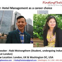 S02E09 FindingTheVoices : Rabi Moirangthem sharing about Hotel Management as a career choice