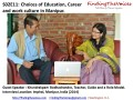 S02E11 Khundrakpam Bodhachandra sharing about choices of Education, Career and work culture in Manipur