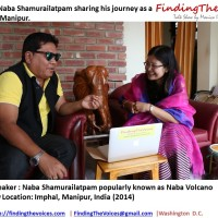 S02E14  FindingTheVoices:  Naba Shamurailatpam sharing his journey as a singer in Manipur.