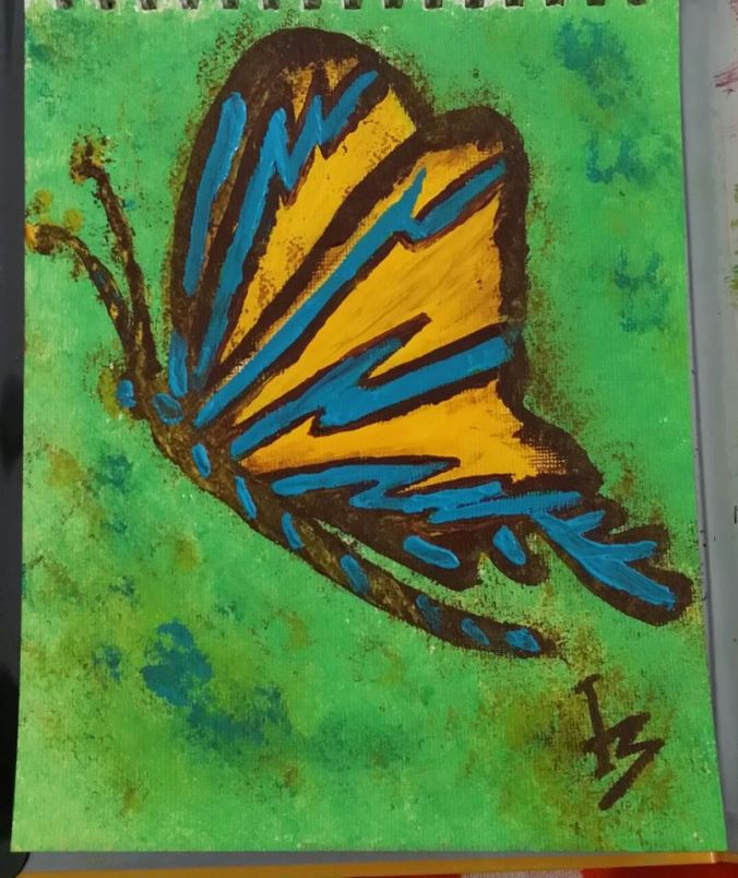 butterfly_lifeisshort_PaintingbyMonicaIngudam