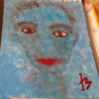 Karemnaba, an acrylic painting