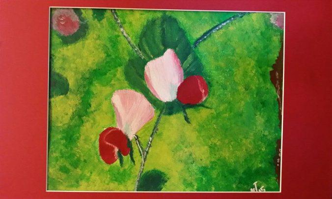 SweetPea_PaintingbyMonicaIngudam