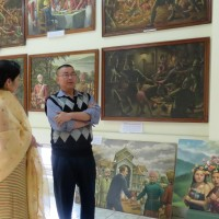 S03E05 FindingTheVoices with Mr. RK Budhimanta: About RKCS Art Gallery, Manipur (Part 1)